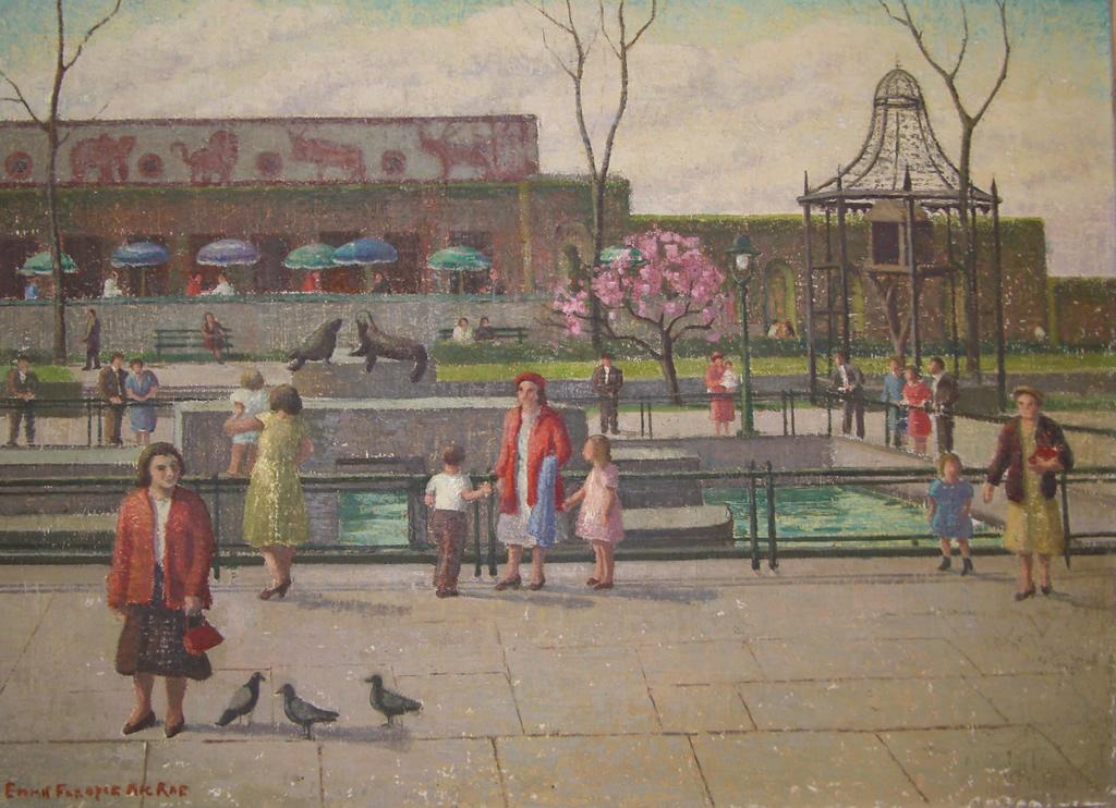 Central Park in April